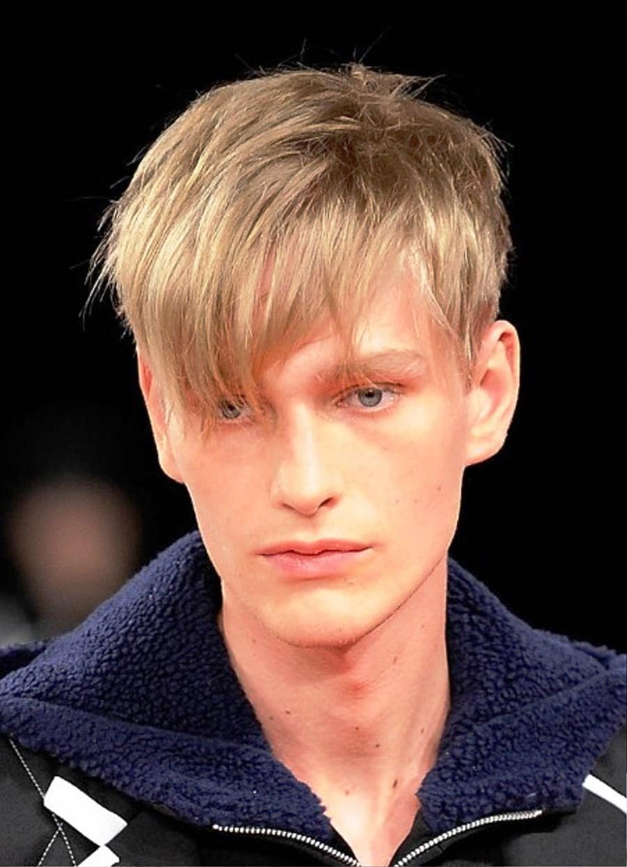 Trendy black male haircuts