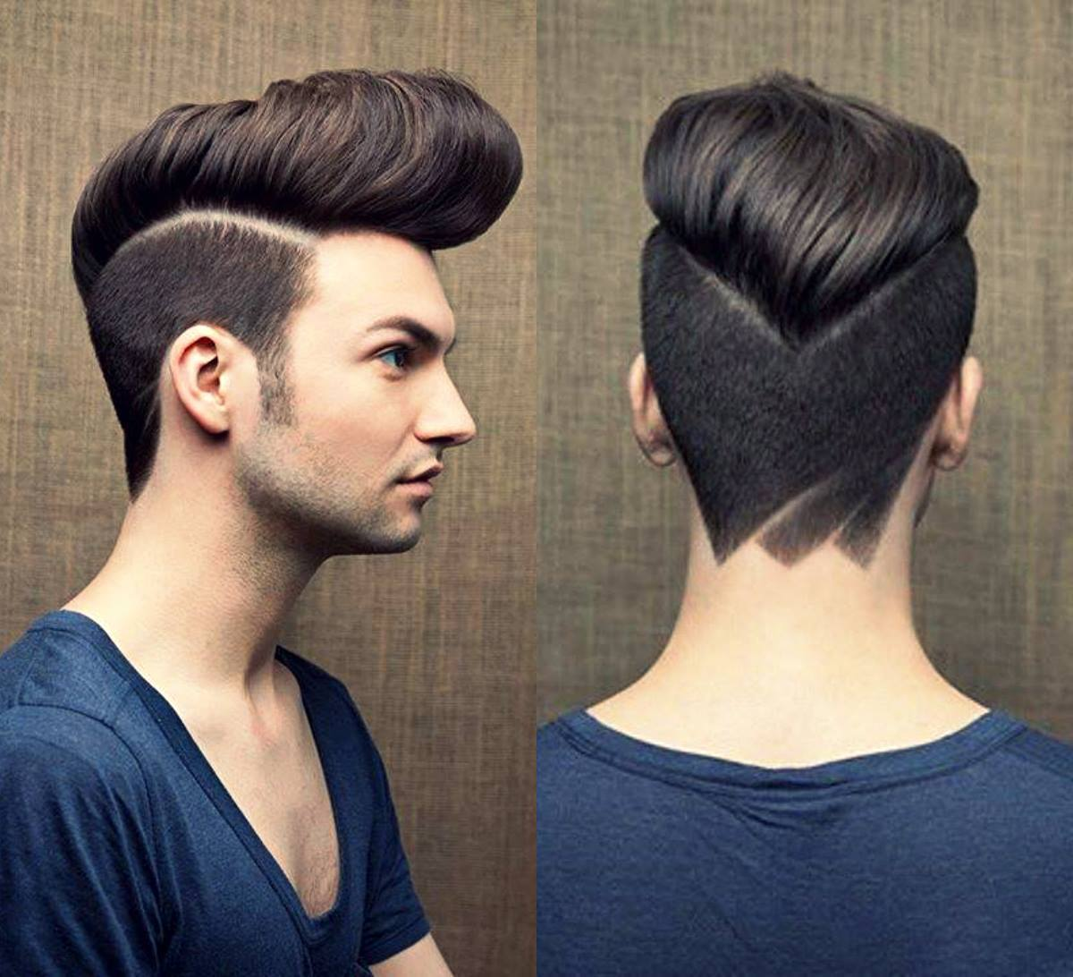 Гранж причёска мужская