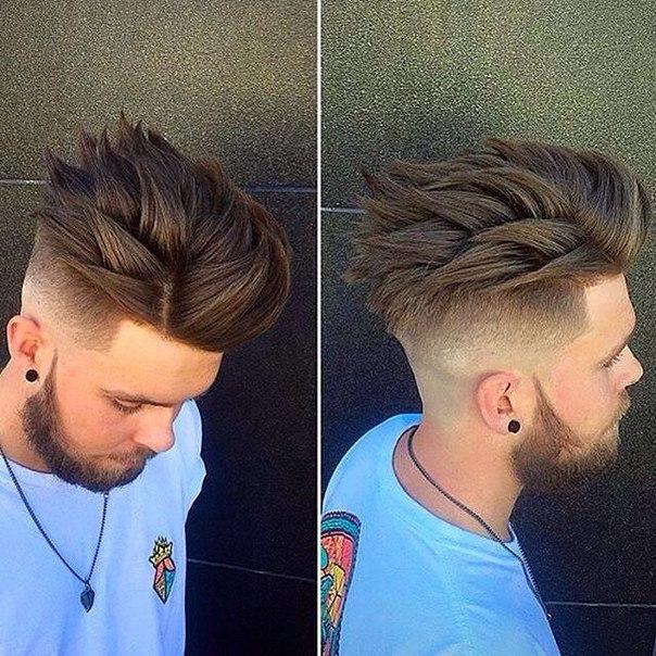 причёска молодёжная фото