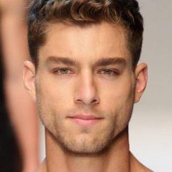 прическа для вьющихся волос мужская