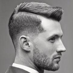 Модные молодёжные мужские причёски