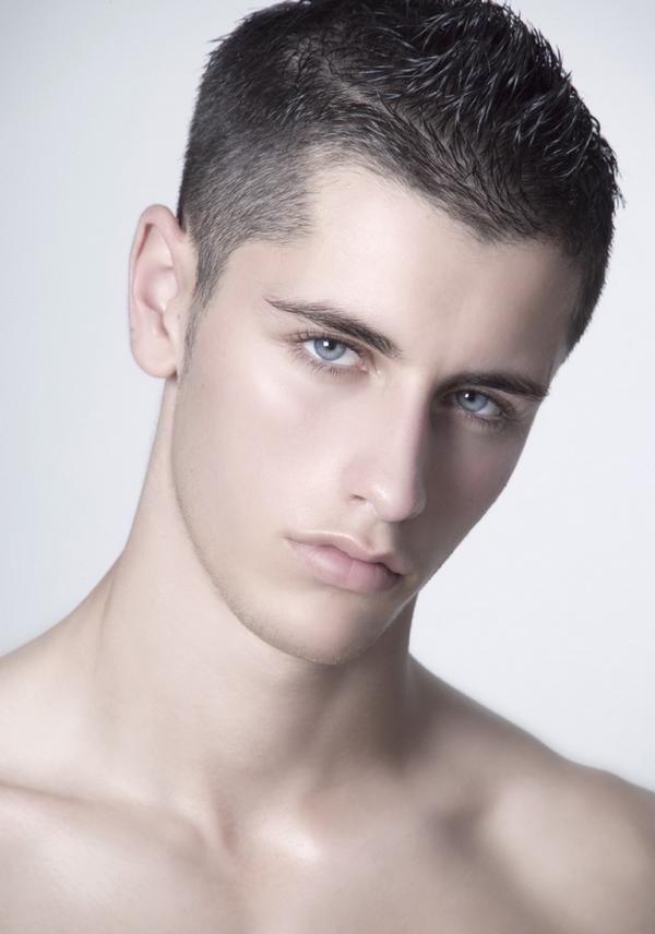 Стрижка мужская молодежная фото