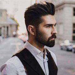 Прически на мужские густые волосы