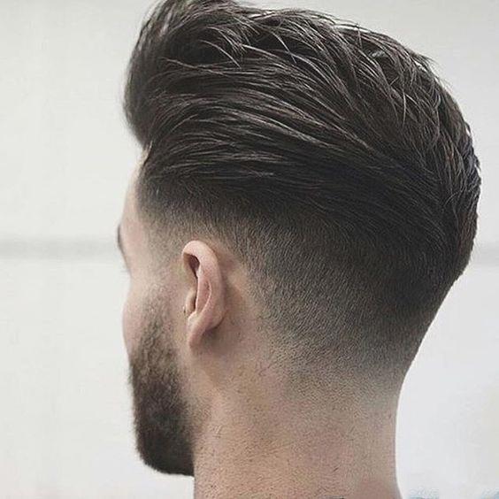 Полубокс стрижка мужская фото вид сзади