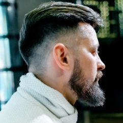 Мужские стрижки под бороду