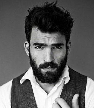 Мужская стрижка под бороду