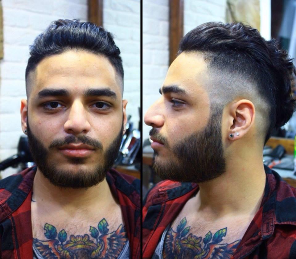 Стрижки с бородой