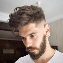 Прически с бородой