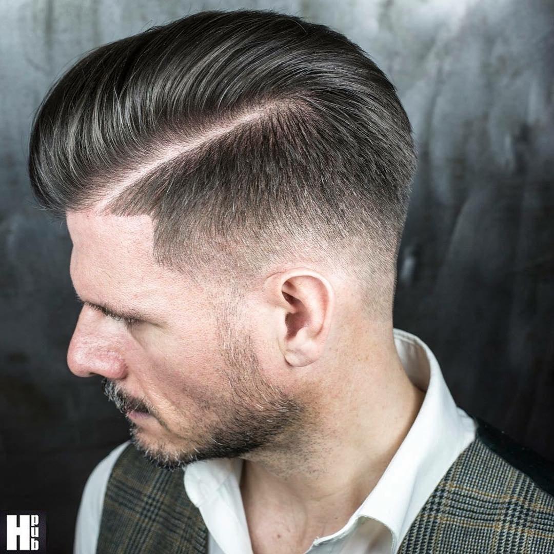 Мужская причёска британка фото