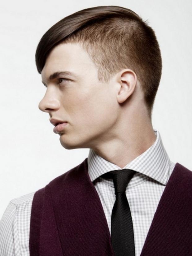 Прическа выбрить по бокам
