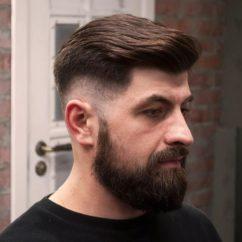Прически под бороду